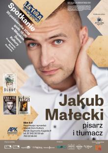 Spotkanie z Jakubem Małeckim w Augustowie