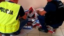 Suwałki. Nielegalne papierosy w pomieszczeniach 34-latka