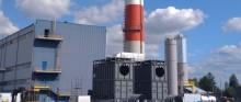 PEC w Suwałkach. Trwa budowa kotła na biomasę, są już paleniska