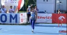 Lekkoatletyka. Maria Andrejczyk rzucała pod wiatr, ale i tak została mistrzynią Polski