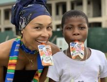 Akcja od 1 do 5 września. Kup w Rossmannie Czekotubkę i pomóż zbudować szkołę w Ghanie