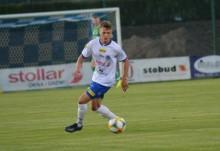 Wigry Suwałki. Michał Ozga zagrał jako rezerwowy w reprezentacji U-20