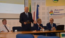 Podlaskie Forum Gospodarcze w Suwałkach z udziałem samorządowców, drogowców i kolejarzy. Dobra droga