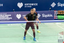 YONEX BWF World Senior Badminton Championships Katowice 2019. Jerzy Dołhan z brązowym medalem [foto]