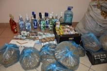 Nielegalny alkohol, tytoń i papierosy w domu suwalczanina