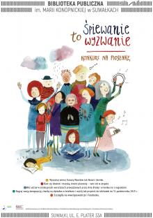 Biblioteka w Suwałkach zaprasza do udziału w konkursie na piosenkę
