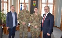 Amerykańscy żołnierze dzisiaj z wizytą u prezydenta Suwałk, a wkrótce na ulicach miasta