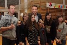 Radek Liszewski z zespołem zagrał dla dzieci ze SOS – W w Suwałkach [zdjęcia]