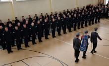 Nowi policjanci w garnizonie podlaskim [zdjęcia]