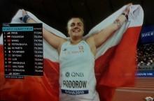 Lekkoatletyka. Joanna Fiodorow z Augustowa wicemistrzynią świata, Maria Andrejczyk w poniedziałek