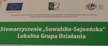 Suwalsko-Sejneńska Lokalna Grupa Działania. Na przedsiębiorczość, infrastrukturę, OZE