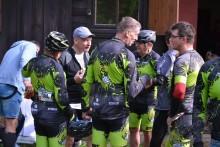 Kolarstwo górskie. Sukces Klubu Rowerowego MTB Suwałki w międzynarodowym wyścigu w Krzywem [zdjęcia]