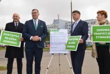 Wybory parlamentarne. Kandydaci PSL Koalicja Polska przedstawili i podpisali Pakt dla Zdrowia