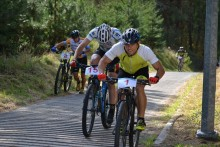 Kolarstwo górskie w WOSiR Szelment. Narciarską trasą rowerem na Jesionową Górę [zdjęcia]