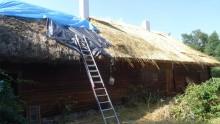 Dobiega końca remont skansenu w Puńsku [zdjęcia]