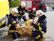 Strażacy ochotnicy doskonalili swoje umiejętności. Manewry ratownicze w Wiżajnach [zdjęcia]