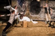 Objazdowy Teatr Polska znów w Suwałkach. Można odbierać wizytówki na Don Kichota