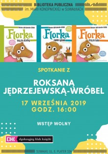Spotkanie z Roksaną Jędrzejewską-Wróbel w Bibliotece
