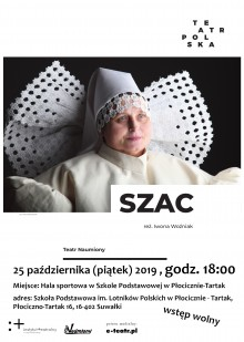 Teatr Polska w Płocicznie- Tartak. Spektakl 25 października