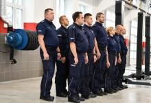 Suwalscy policjanci mają nowy budynek gospodarczy i warsztatowy [zdjęcia]
