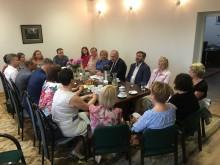 Sejny. Rozmowy konsula z mniejszością litewską między innymi o przedszkolu i centrum w Suwałkach