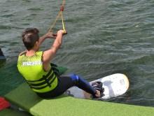 Lato z motorowodniakami w WOSiR Szelment. Już w ten weekend darmowa nauka jazdy na nartach wodnych