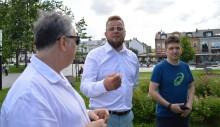 Wybory prezydenckie. Paweł Tanajno w Suwałkach za wolnością gospodarczą i wyższymi emeryturami [foto