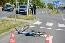 Potrącenie rowerzysty w Suwałkach. Znowu na ulicy Reja