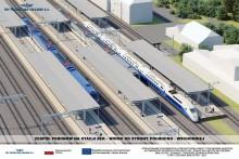 Rail Baltica. Stacja Ełk będzie bardziej dostępna dla podróżnych [wizualizacje]