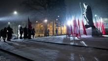W Suwałkach w 39. rocznicę wprowadzenia stanu wojennego [zdjęcia]