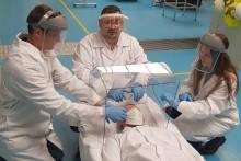 Klaster Obróbki Metali wspiera szpitale w walce z koronawirusem