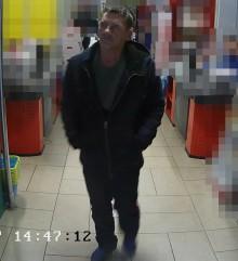 Suwalscy policjanci poszukują mężczyzny podejrzewanego o kradzież