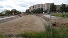 Dzieje się na osiedlu Północ. Budują nowe ulice, parkingi i zatoki [zdjęcia]