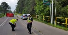 Motocyklista zginął w wypadku drogowym na ul. Reja w Suwałkach