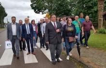 Puńsk, Sejny. Wizyta ministra spraw zagranicznych Litwy [zdjęcia]