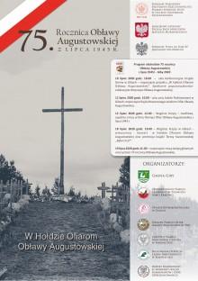 Obchody 75. rocznicy Obławy Augustowskiej w Gibach
