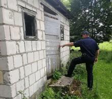 Suwalscy policjanci odnaleźli chorego mężczyznę