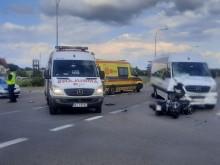 Śmiertelny wypadek motocyklisty w Gołdapi. Winny kierowca autobusu