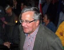 Bronisław Komorowski został przewieziony ze szpitala w Sejnach do Warszawy