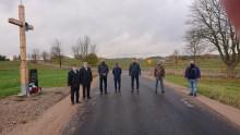 Droga powiatowa Wołownia - Suchodoły nareszcie asfaltowa [zdjęcia]