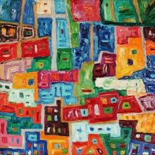 Fowistyczne impresje - wystawa Jonasa Butkevičiusa bez wernisażu. Obejrzyj wywiad z artystą