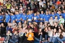 Wigry Suwałki zaprezentowały drużynę w usportowionej Szkole Podstawowej nr 11 [wideo i zdjęcia]
