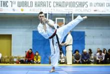Karate shinkyokushin. Michał Karpowicz z medalem, ale bez kwalifikacji na mistrzostwa Europy [foto]