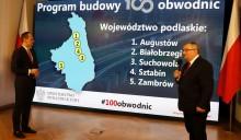 Rząd obiecuje zbudować 100 obwodnic w 10 lat. Obwodnica Augustowa, Białobrzegów, Sztabina, Pisza