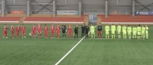Wigry Suwałki - FK Riteriai Wilno 3:0. Na pożegnanie z Mariampolem