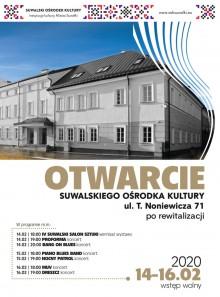 Wystawa i wieczór z muzyką. Uroczyste otwarcie budynku SOK przy ul. T. Noniewicza
