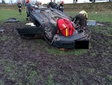Wypadek w Kolnicy. Nie żyje kierująca Passatem