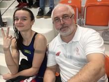 Pływanie. Julia Gwaj brązową medalistką Mistrzostw Polski  Juniorów 16-letnich