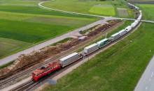 Rail Baltica. Z Niemiec przez Suwałki na Litwę -  TIR-y wreszcie na torach