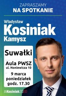 Spotkanie z kandydatem na prezydenta Władysławem Kosiniakiem Kamyszem